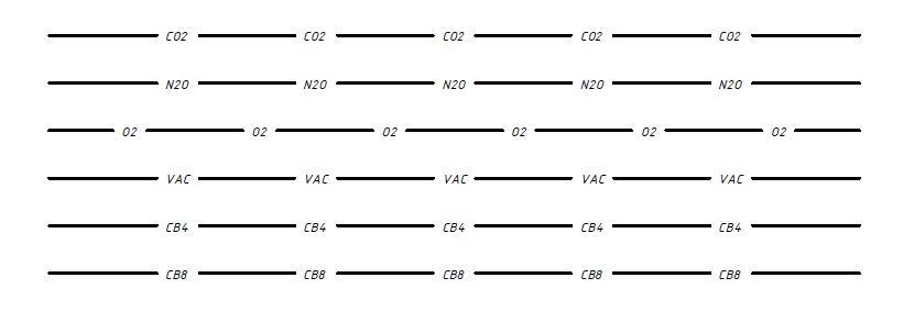 Типы линий AutoCAD